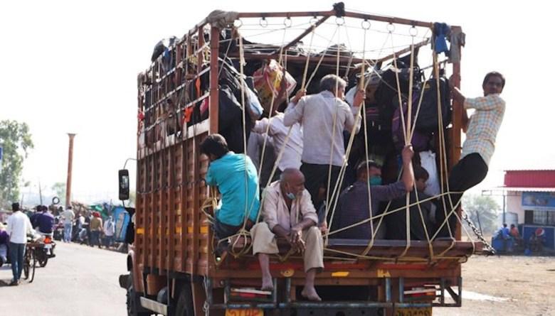 Photo of प्रवासी मजदूरों से भरी डीसीएम पलटी, दो की मौत, नौ घायल
