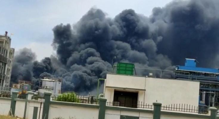 bharuch chemical factory blast