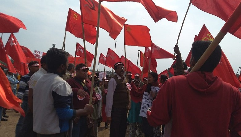 Photo of भारत छोड़ो आंदोलन की वर्षगांठ पर ट्रेड यूनियनों का जेल भरो सत्याग्रह