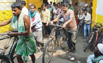 workers in jute mill kolkata