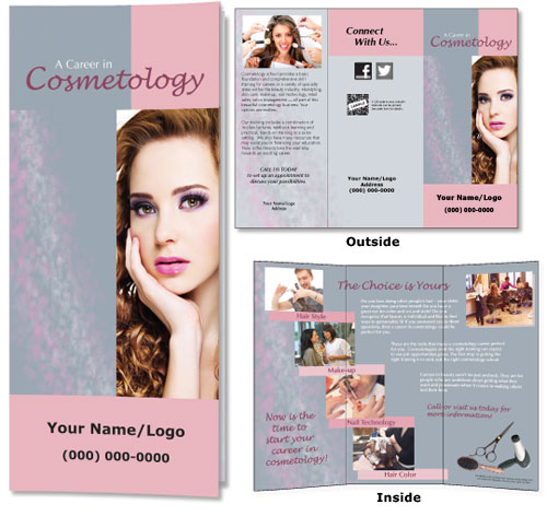 Workforce Communications Print Samples Cosmetology Career