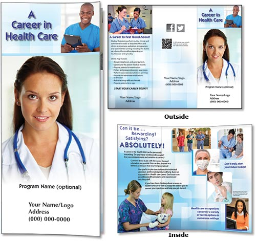 Career Brochure Examples Ideal Vistalist Co