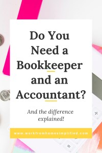 What's the difference between adn accountant and bookkeeper?