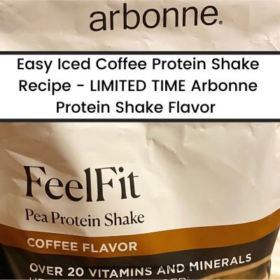 Arbonne Protein Shake Bag