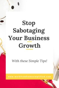Are Your Sabotaging Your Own Success?