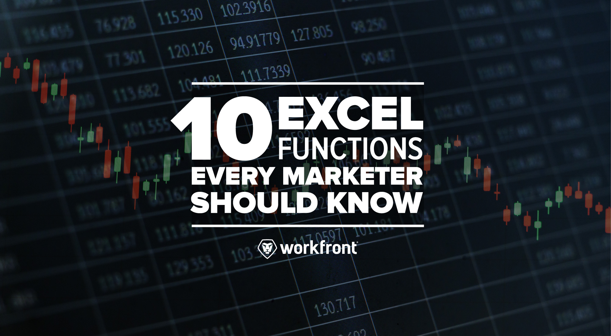 10 Excel Functions Every Marketer Should Know