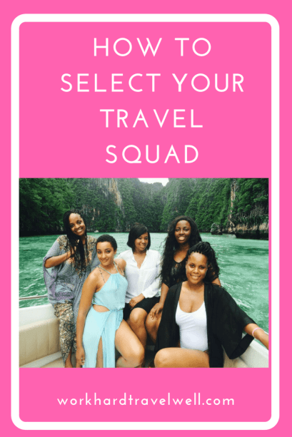 A few things to consider before adding to your travel squad.