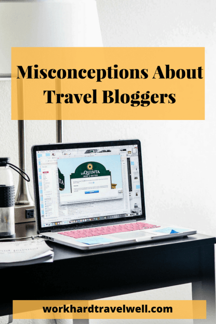 A look at some assumptions and misconceptions made about travel blogging