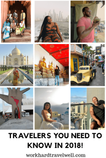 A look at dope travelers of color who exemplify #WorkHardTravelWell!