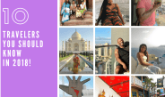 Travelers You Need To Know in 2018 + #WorkHardTravelWell 2017 Recap