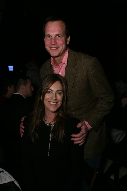 Bill Paxton and Kathryn Bigelow