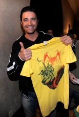 capcom-lost-planet-2-launch-party-gilles-marini-t-shirt