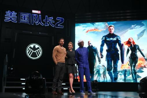 """Marvel's """"Captain America: The Winter Soldier"""" Beijing Press Conference"""