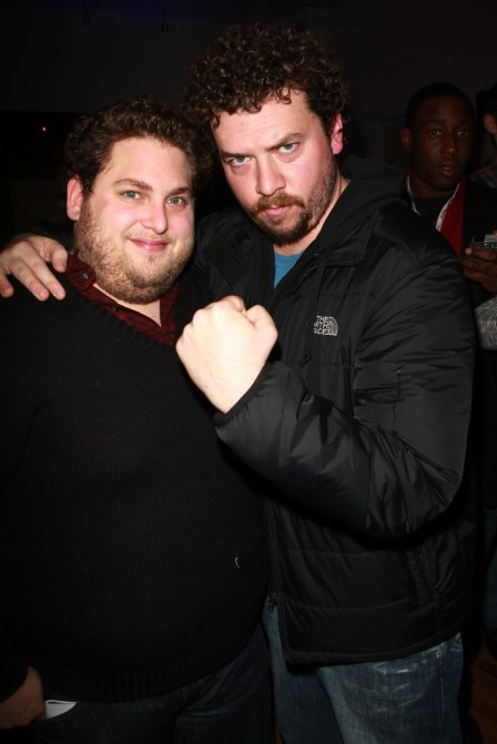 Jonah Hill and Danny McBride.