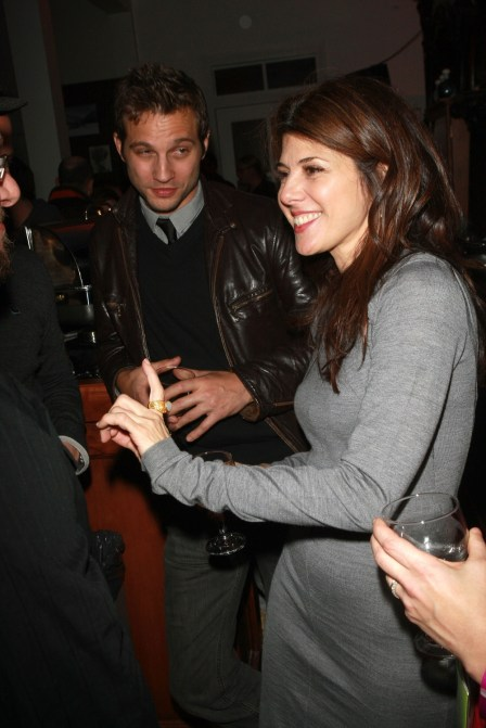 Marisa Tomei is the life of the party!