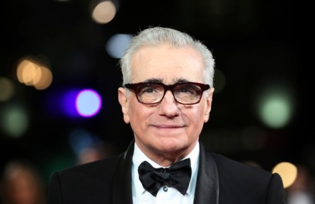 Oscar-winning director Martin Scorsese.