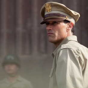 Matthew Fox as Gen. Bonner Fellers in Emperor.