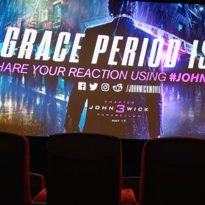John Wick 3 - Parabellum screening