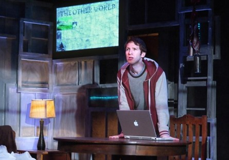 Dan Shaked in 'On the Spectrum' at the Fountain Theatre.(Courtesy of Ed Krieger)