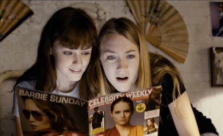 Alexis Bledel as Violet and Saoirse Ronan as Daisy.(Courtesy of MV Nepenthes LLC/Cinedigm)