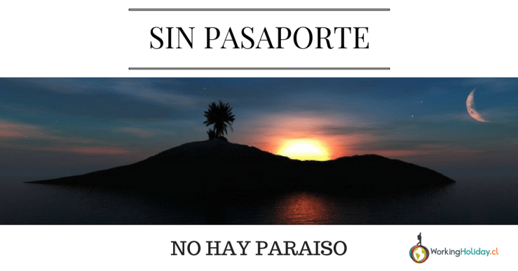 pasaporte working holiday