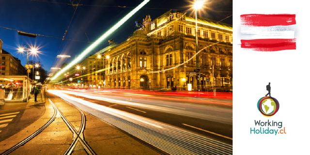 Austria Requisitos Postulación working holiday visa