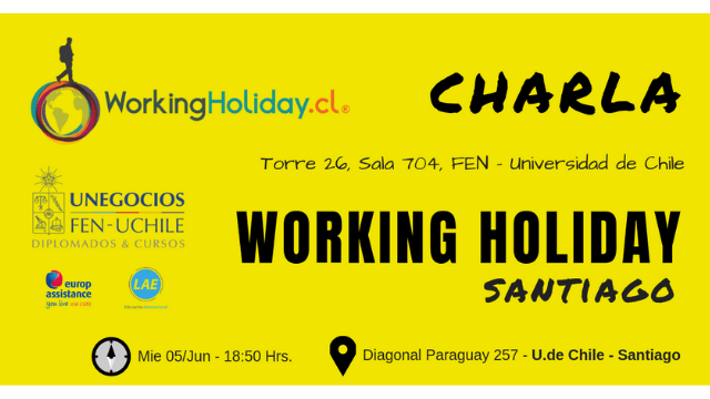 Charla Working Holiday FEN 05 Junio 2019