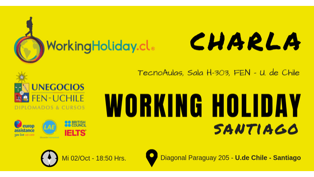 Charla Working Holiday Irlanda DespertarViajero