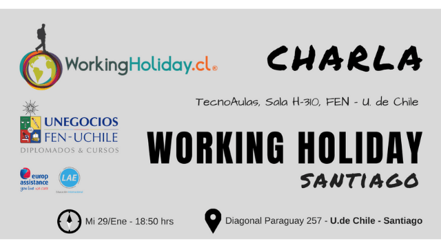 charla working holiday camila lazo