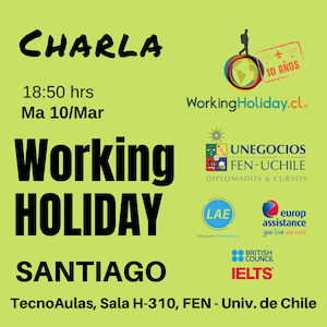 charla working holiday japon