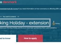 Dinamarca Extensión Visa