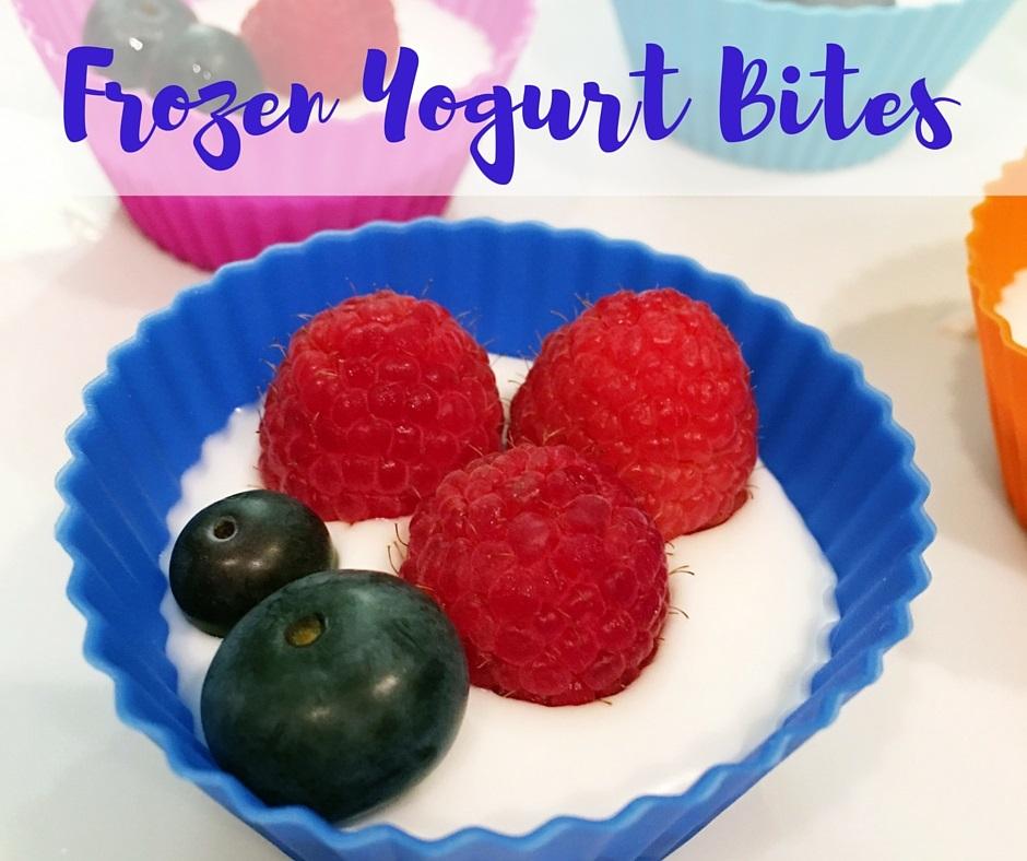 Frozen Yogurt Bites facebook