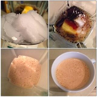 coffee, butter, coconut oil