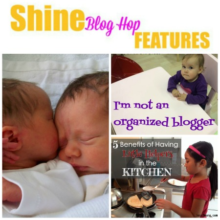 Featured posts from week 18 of the SHINE Blog Hop