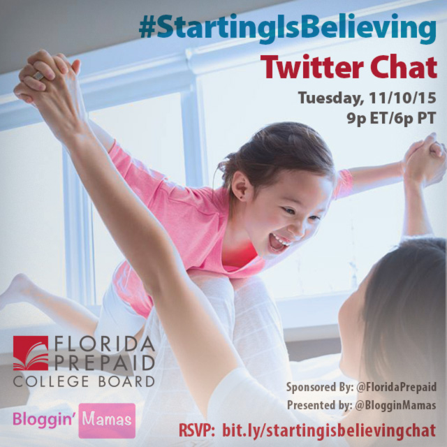Starting Is Believing Chat with Florida Prepaid 11-10-15 at 9p EST. bit.ly/startingisbeliecingchat