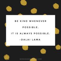 Be Kind Challenge 2016