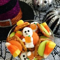 Spooky Pretzel Bites