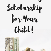 Win a College Scholarship for Your Child!
