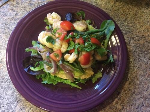 Cumin Shrimp Tostadas - Green Chef Review