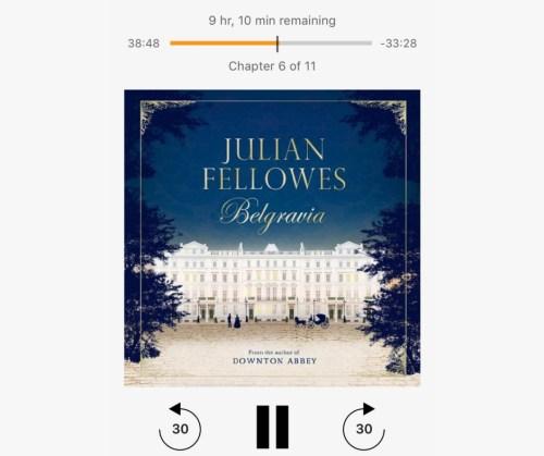 belgravia audiobook