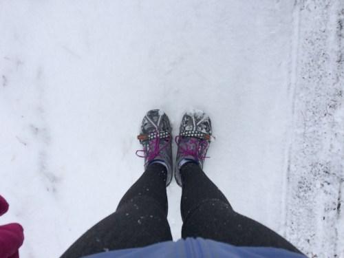 yaktrax - winter running essential