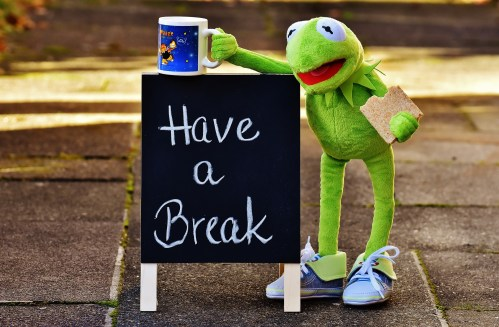 take breaks during your day