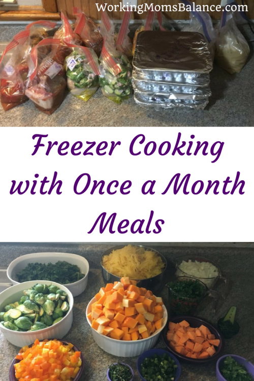 Freezer cooking makes weeknight dinners easy. Once a Month Meals does all of the planning and organizing and calculating for you, so you just select your recipes, print your lists and get to work.