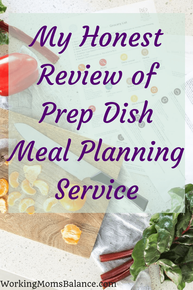 My Honest Review of Prep Dish Meal Planning Service #mealplanning #dinner #mealplan #prepdish #healthyfood