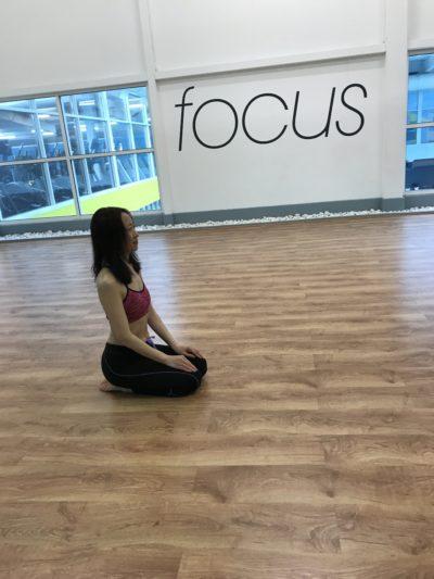Yoga Pose – Thunderbolt