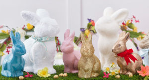 Easter, bunny making
