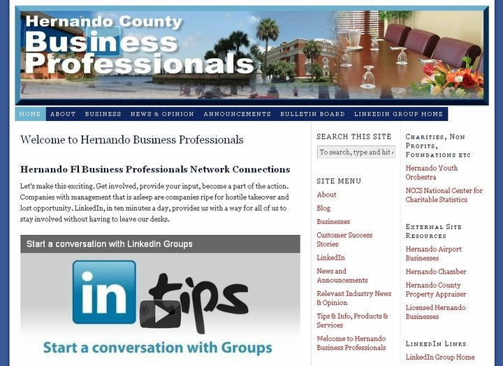 Hernando County Business Professionals