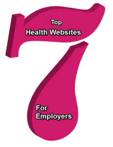 Seven employer health websites
