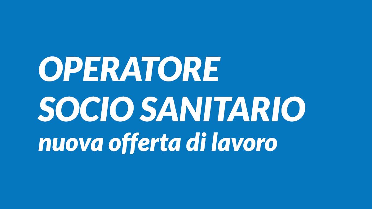 Operatore Socio Sanitario Offerta Lavoro Ottobre 2019 Bari