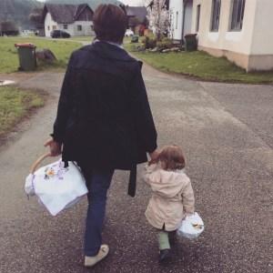 Mit Oma zur Fleischweihe